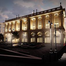 Corvin Áruház: felújítás utáni látványterv (Forrás: fb.com/up2vr)
