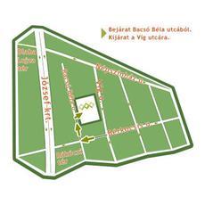 Víg Parkolóház - térkép