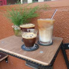Jegeskávék az Apricot coffeeban