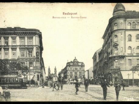 A régi Baross utca