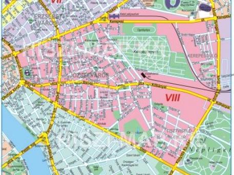 budapest 8 kerület térkép VIII. kerület   Józsefváros   Nem lesz kommunális adó Józsefvárosban