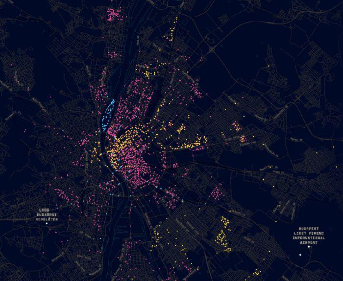 Viii Kerulet Jozsefvaros Erdekes Terkep A Budapesti