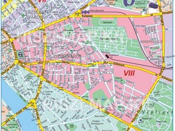 budapest 8 kerület térkép VIII. kerület   Józsefváros | Tervezik a kerület  budapest 8 kerület térkép