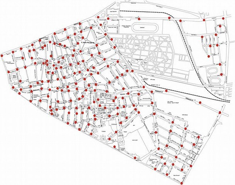budapest viii térkép VIII. kerület   Józsefváros | Itt a térfigyelő kamera térkép budapest viii térkép