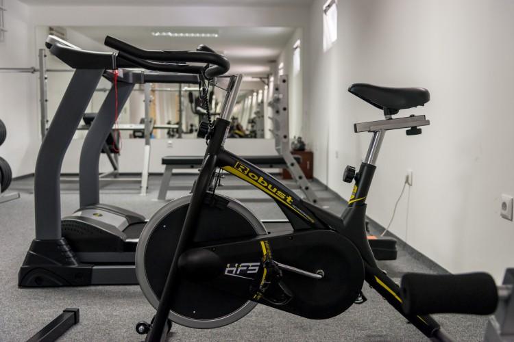 Az új edzőterem (forrás: jozsefvaros.hu)