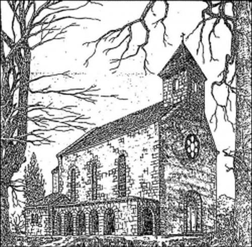 Az engesztelő kápolna eredeti látványterve