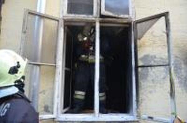 Tűzoltók a Jósika utcában (forrás: Katasztrófavédelem)